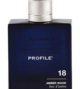 profile amber wood body wash